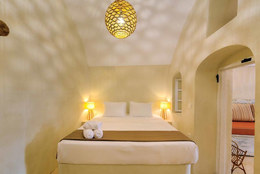 Oceanida Cave Suites Bedroom