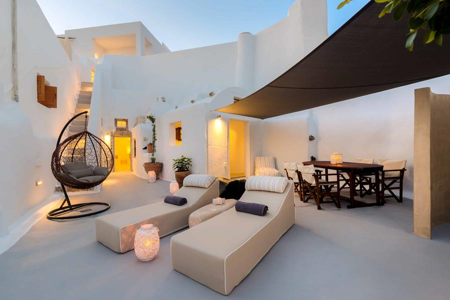 Oceanida Cave Suites Terrace